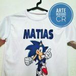 camiseta de niño