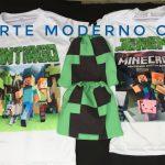 Camiseta de niño Minecraft