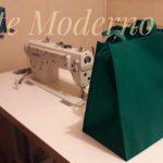 bolsa ecologica verde